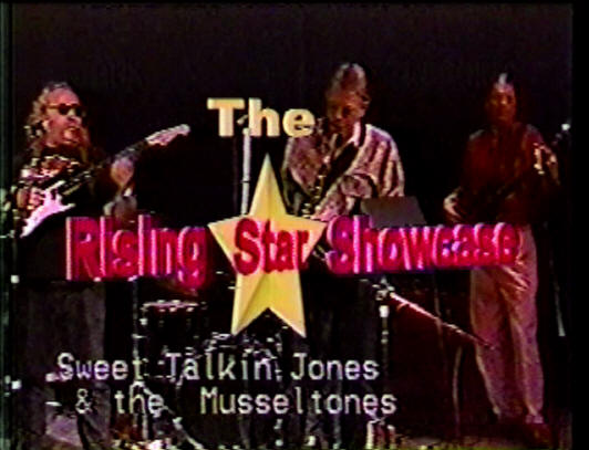 SWEET TALKING JONES and THE MUSSEL TONES