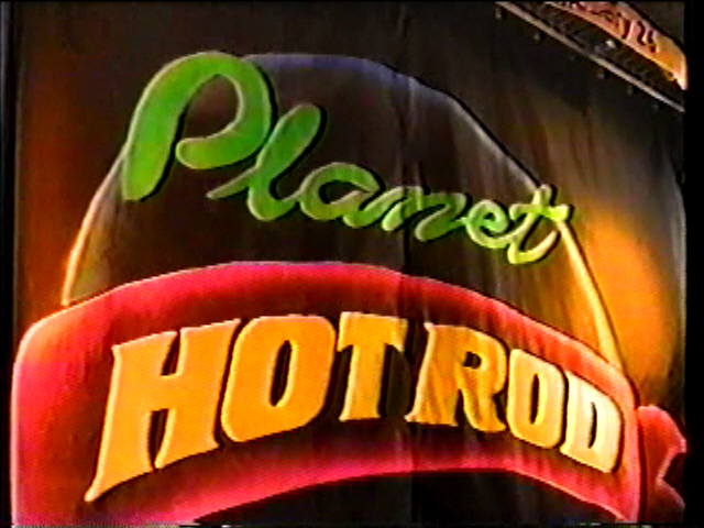 PLANET HOT- ROD FRANK JAMES BAND