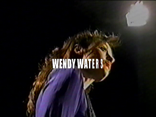 WENDY WATERS BABY BABY