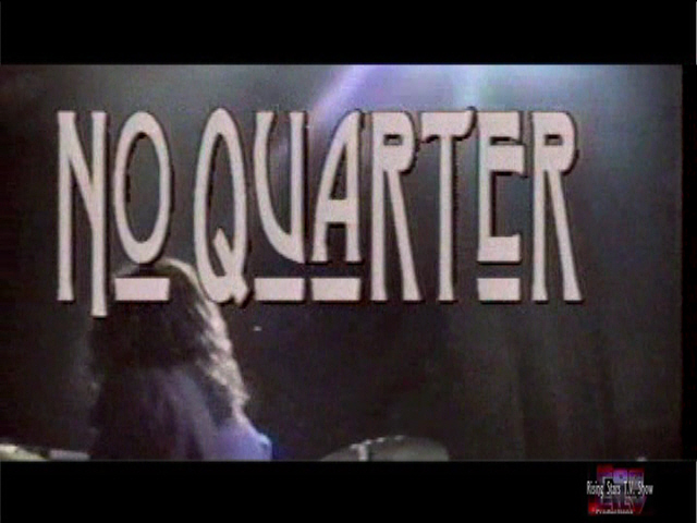 NO-QUARTER 4TH SONG
